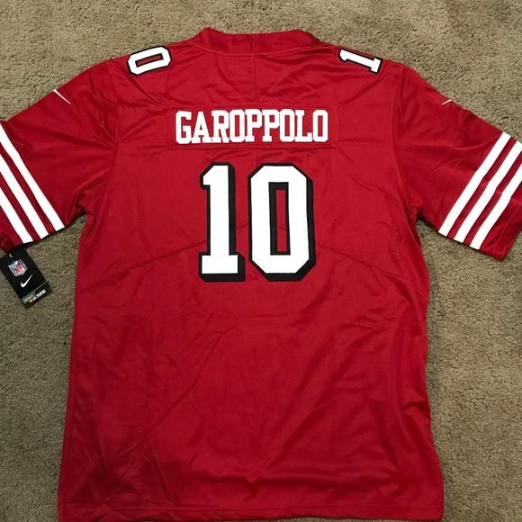 on sale c4768 61b39 San Francisco 49ers Jimmy Garoppolo Jersey XL NWT